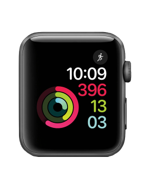 Apple Watch Series 2 Stainless Steel (42mm) A1758 8Gb Black GPS Grade A