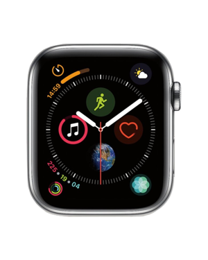 Apple Watch Series 4 Stainless (44mm, GPS + Cellular)  A1975 16Gb Silver GPS + Cellular Grade A