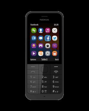 Nokia 220 Unknown Standard Black Unlocked Grade B