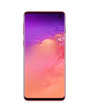 Samsung Galaxy S10 (Dual Sim) SM-G973F/DS 128Gb Cardinal Red Unlocked Grade A